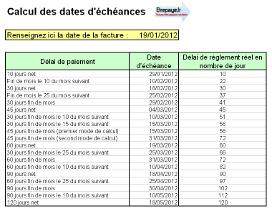 Calcul Des Dates D Echeances En Quelques Clics Fr