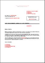 Lettre mise en demeure caution document online - Mise en demeure restitution caution ...