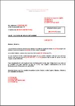 Lettre De Relance A L Acheteur Niveau 2 Fr