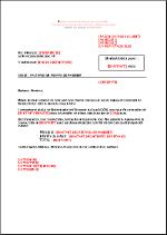 Lettre De Relance Type Penalites De Retard Fr