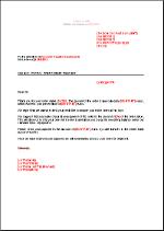 exemples de modèles: Lettre De Demande De Paiement De Facture