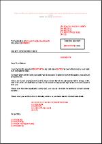 Lettre De Relance Suite Cheque Impaye En